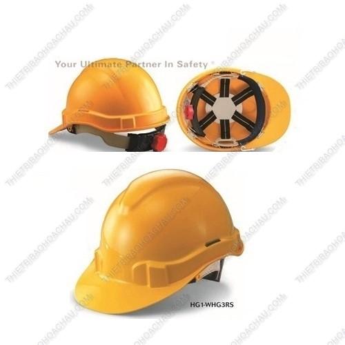 Mũ bảo hộ lao động có núm vặn điều chỉnh