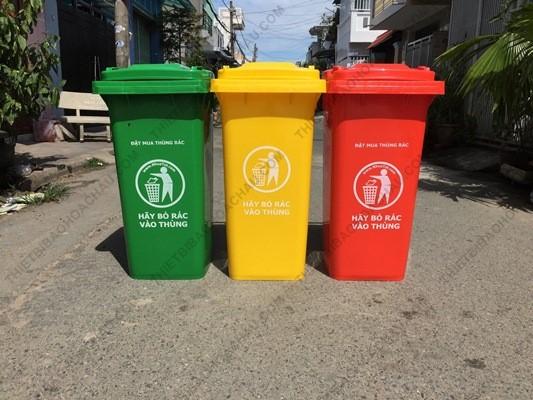 Thùng rác nhựa cho nhà xưởng chất lượng cao giá rẻ