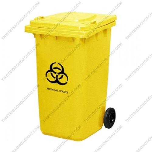 Thùng đựng rác thải y tế nhựa HDPE 120 lít