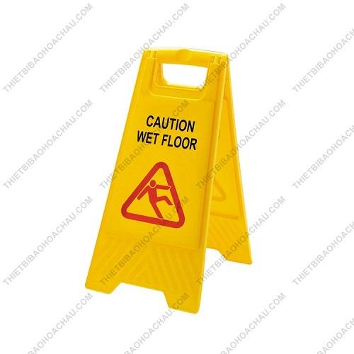 Biển cảnh báo chú ý sàn ướt