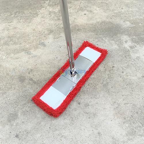 Cây lau sàn siêu sạch Tấm màu đỏ 45cm cho bệnh viện