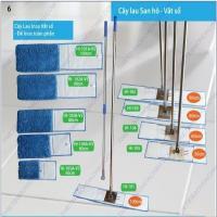 Cây lau sàn công nghiệp bụi khô và ướt sợi microfiber