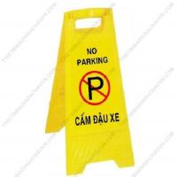 Biển cảnh báo chữ A khu vực cấm đậu xe