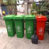 Thùng rác nhựa chất lượng cao 60-90-120-240 lít