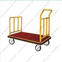 Xe đẩy hàng & hành lý inox mạ vàng loại lớn