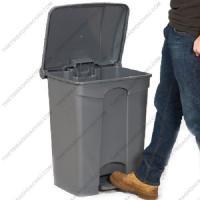 Thùng rác nhựa nắp kín có đạp chân loại lớn 68 lít