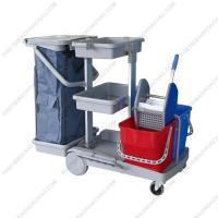 Xe đẩy làm vệ sinh đa năng & dọn buồng phòng