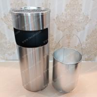 Thùng rác inox GẠT TÀN cao cấp cho nhà hàng- Khách sạn