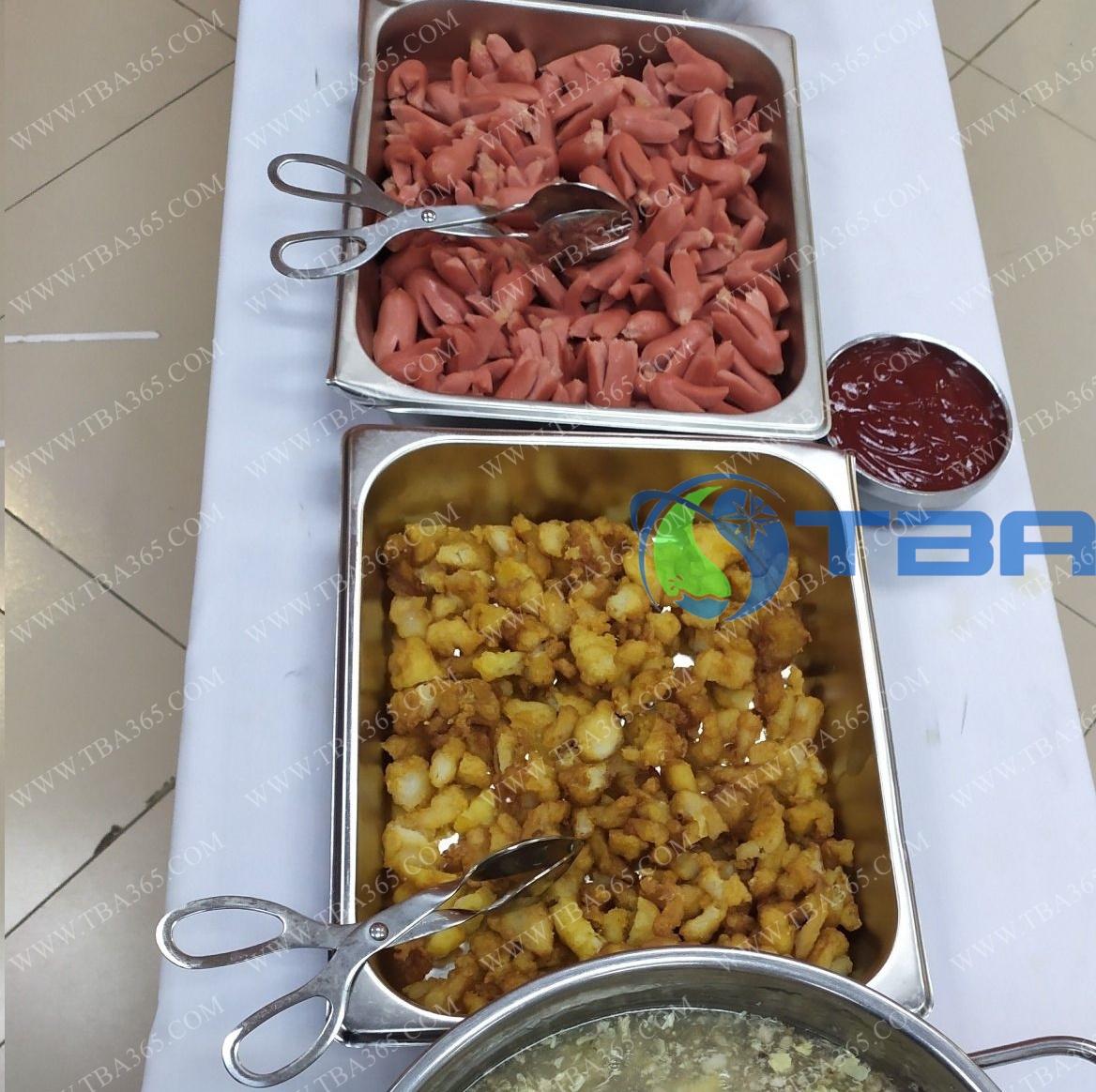 Kẹp dạng kéo cho buffet cao cấp
