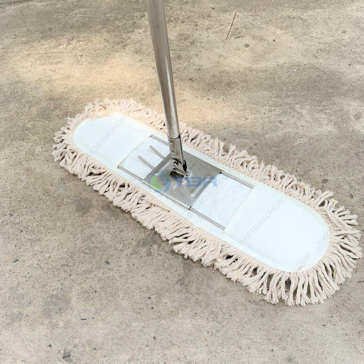 Cây lau sàn công nghiệp cao cấp tấm cotton 60cm